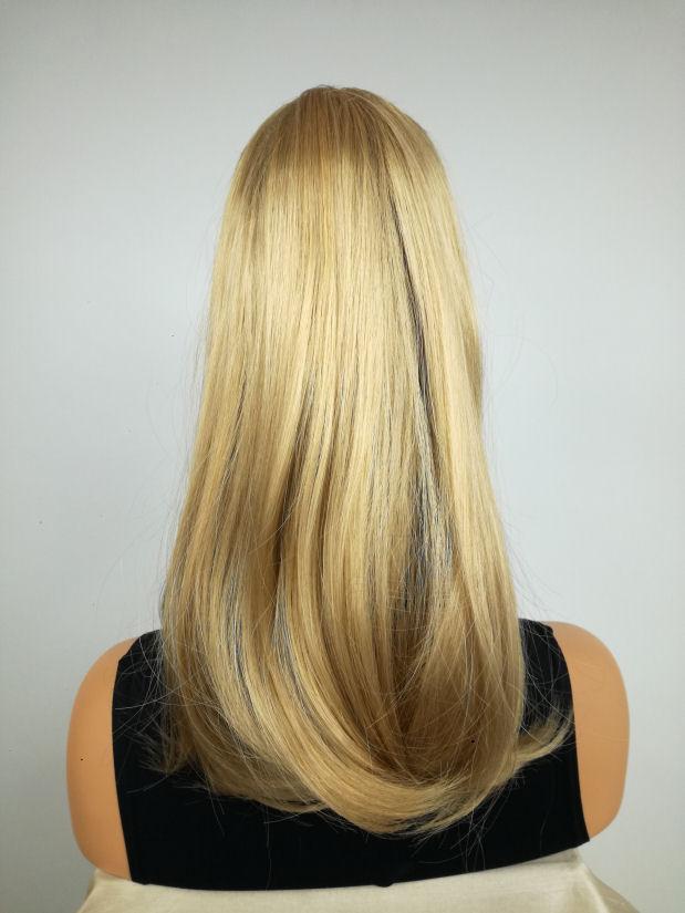 Treska Dopinka Kucyk Złoty Blond Idealna Fryzura